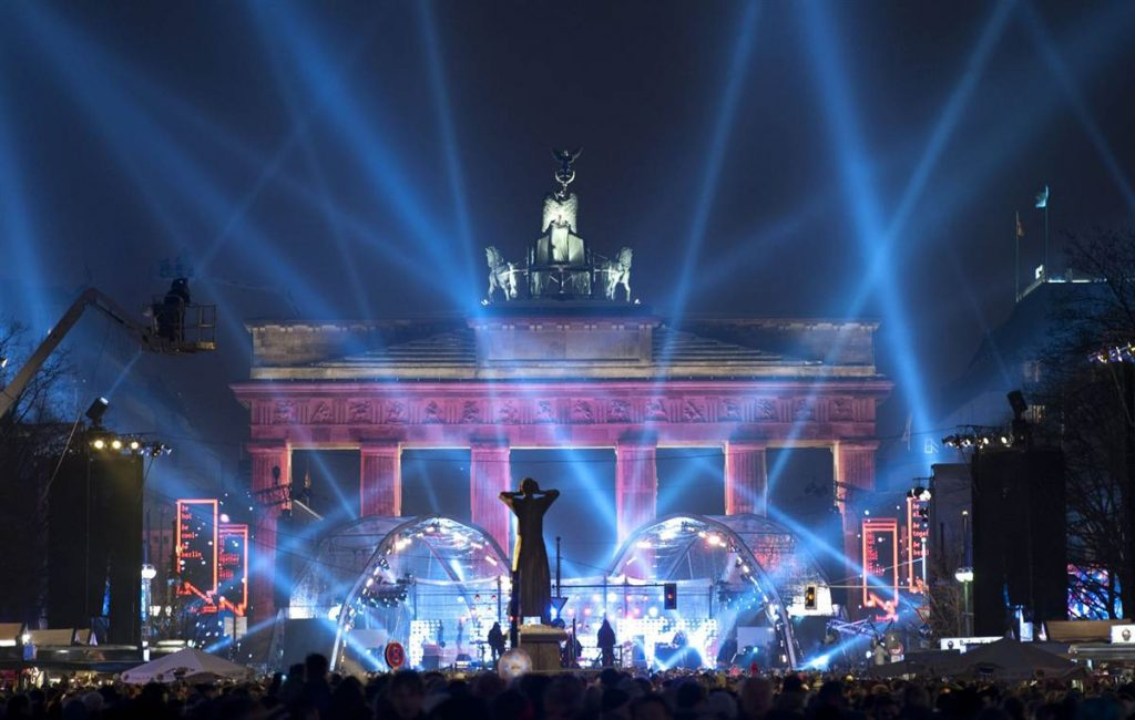 Berlin at New Years