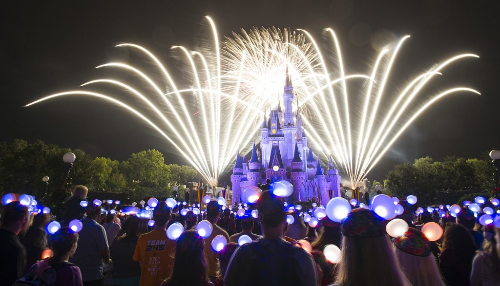 NYE at Disney World