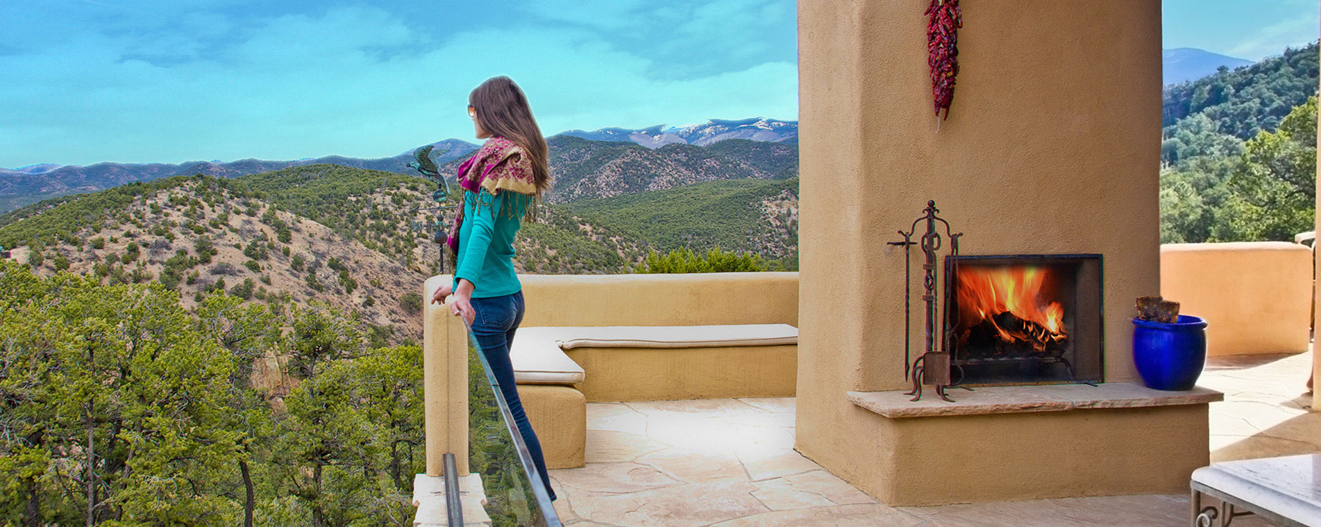 Vacation rentals vs hotels whats the big difference for Santa fe new mexico cabin rentals
